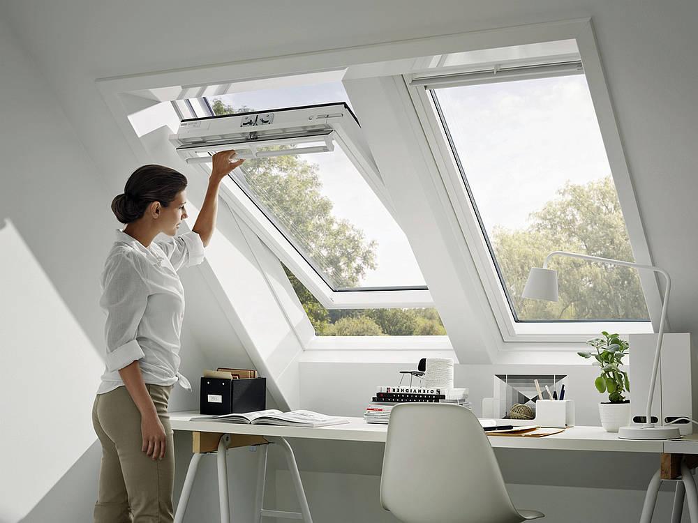 Fenster Dachschräge einzelansicht window de fensterverbände