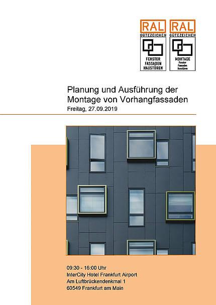 Neues Seminarangebot: Planung und Montage von Vorhangfassaden