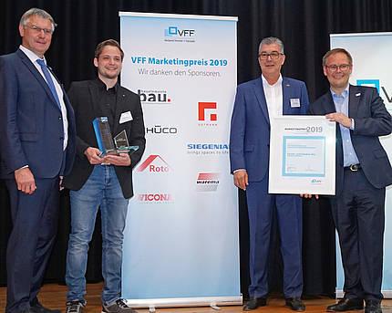 Marketingpreis des Verbandes Fenster + Fassade: Fenster- und Türenbau Jörg ist der Gewinner 2019