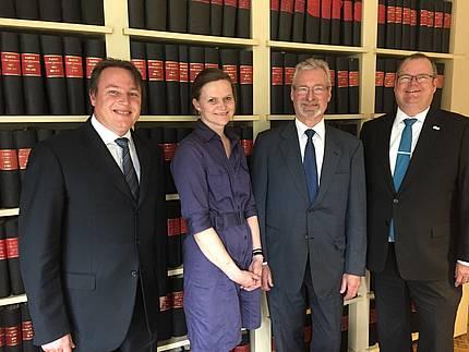 EuroWindoor-Hauptversammlung in Nürnberg bestätigt das Präsidium für weitere drei Jahre